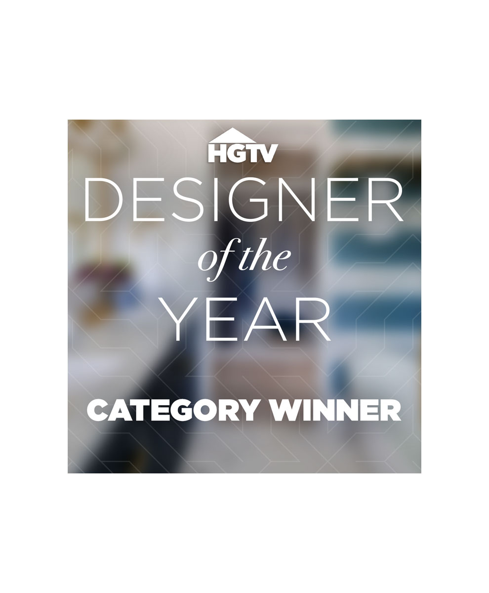 HGTV Designer of the Year 2019 Category Winner