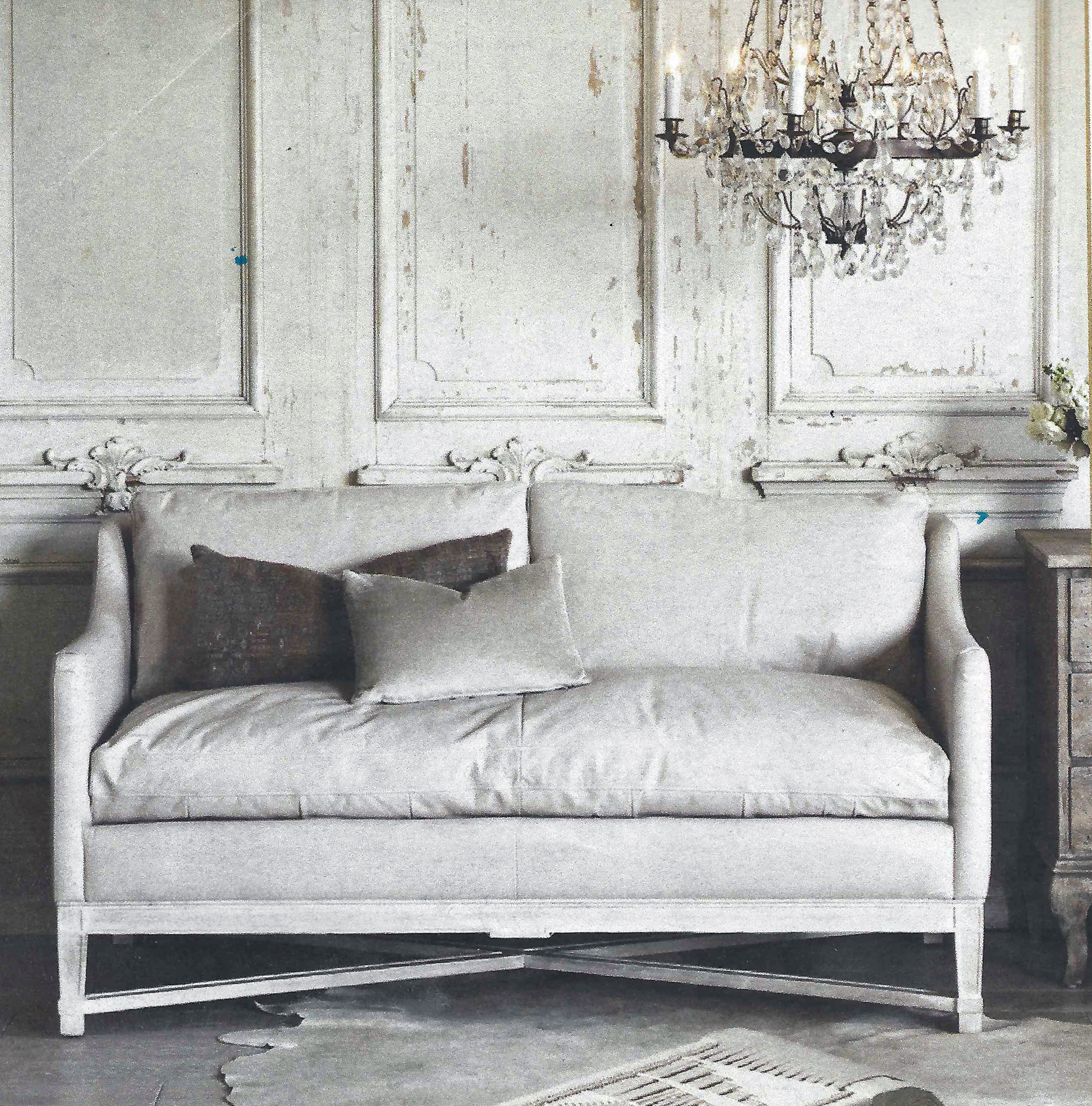 Loveseat form Ana Donohue Interiors Boutique Design Studio