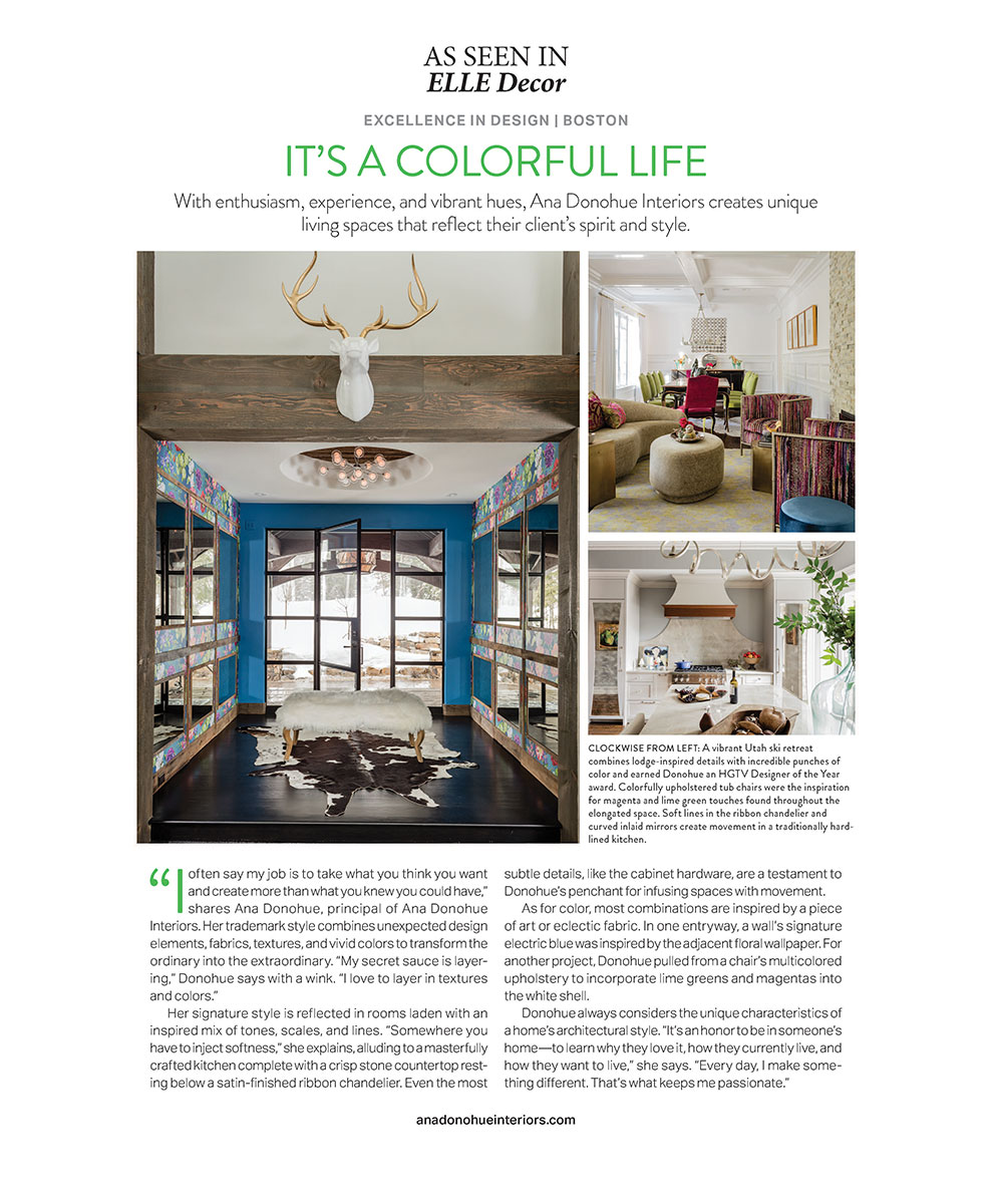 as seen in elle decor - ana-donohue